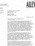 Letter of Support from Alvin Ailey American Dance Center