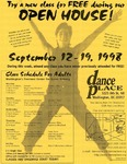 Flyer - Open House at Dance Place