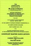 Flyer - Howard University dance program Dance Intensive