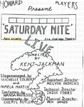"""""""Saturday Nite"""" by Channing Pollock Collection"""
