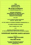 Flyer - Howard University dance program Dance Intensive by Channing Pollock Collection