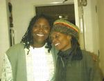 Denise Sanders and Dr. Sherrill Berryman Johnson, c1990s