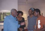 Douglas Turner Ward, Denise Hart, Reggie Ray, and an unknown student, 2008.