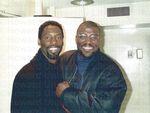 Isaiah Washington and Anthony Adams, c1980s.
