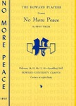 """No More Peace"""