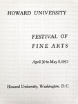 Howard University Festival of Fine Arts, 1951 by Channing Pollock Collection