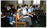 Cadets and Family Sit During a Program