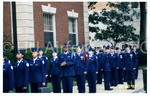 Cadets in Dress Uniform Prepare for March