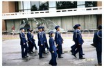Cadets in Dress Uniform March