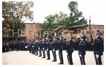 Cadets Throw Guns in the Air during Program