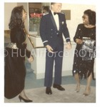 The Military Ball: The Receiving Line, Beginning with Captain Hill
