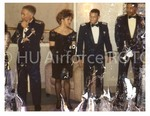 The Military Ball: The Receiving Line, Beginning with Captain Hill…and Guests