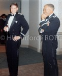 The Military Ball: Lieutenant Long and Colonel Tafares Share a Laugh