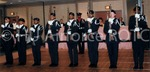 The Military Ball: C.G. [Color Guard] Give An Outstanding Performance at the Ball