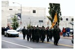 [Cadets March in Homecoming Parade]