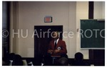 [Member of the Tuskegee Airman Speaks to the Cadets]