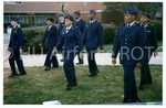 [Cadets March on The Yard]