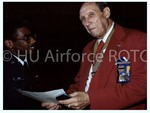 [Cadet Speaks with Tuskegee Airman]