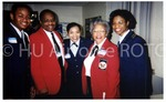 [Ann Frederick with Cadets and other guest]
