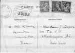 Klein, Felix, Postcard