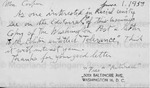 Unsigned/Partial Name - Postcard From Fletcher Mae H. 3