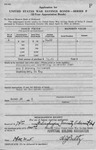 Application For United States Savings Bonds - Frelinghuysen University 3
