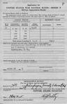 Application For United States Savings Bonds - Frelinghuysen University 3