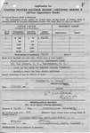 Application For United States Savings Bonds - Frelinghuysen University 6