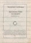 Decennial Catalogue of Frelinghuysen University
