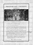 Advertisement for Frelinghuysen University