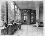 Photograph of the Rear Porch of Frelinghuysen University