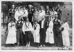 Group Photograph of Anna Julia Cooper with Wheeling Playground Instructors