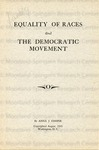 Equality of Races and The Democratic Movement 1945