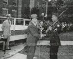 Dean Lewis K. Downing and Cadet Sergeant Alonzo L. Ferguson