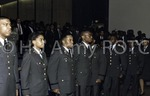 [Cadets at Commissioning Ceremony]