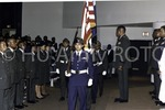 [Color Guard Presents Flag at Commssioning Ceremony]