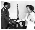 DAR Special Award: Col. Welton E. Hamilton. Presentd by Mrs. Grace M. Hudgins