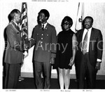 Commissioning Excercises: Col Stroman, Lt Davis, Mrs. Davis, Mr. Davis