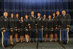 [Cadets and Officers Pose for Photograph at the 2016 Army ROTC Commissioning Ceremony]