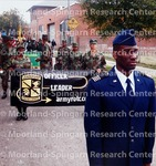 Members of Howard's ROTC program marched with poise, precision and pride.