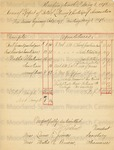 Financial reports of the Bethel Literary and Historical Association, 1897-1898