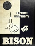 The Bison: 1963 by Howard University