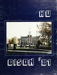 The Bison: 1981 by Howard University