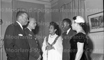 January 1956 Ethiopian Embassy Christmas Celebration