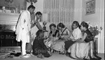 January 1956 Ethiopian Embassy Christmas Celebration 7