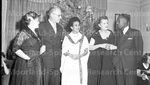 January 1956 Ethiopian Embassy Christmas Celebration 13