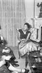 January 1956 Ethiopian Embassy Christmas Celebration 15