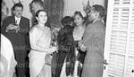 January 1956 Ethiopian Embassy Christmas Celebration 21