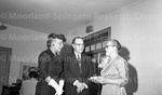 Dr. Susie Elliot returning from Howard University. Feb, 1956