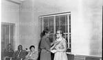 Dr. Susie Elliot returning from Howard University. Feb, 1956 2